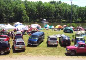 Lake Anna Campgrounds tents
