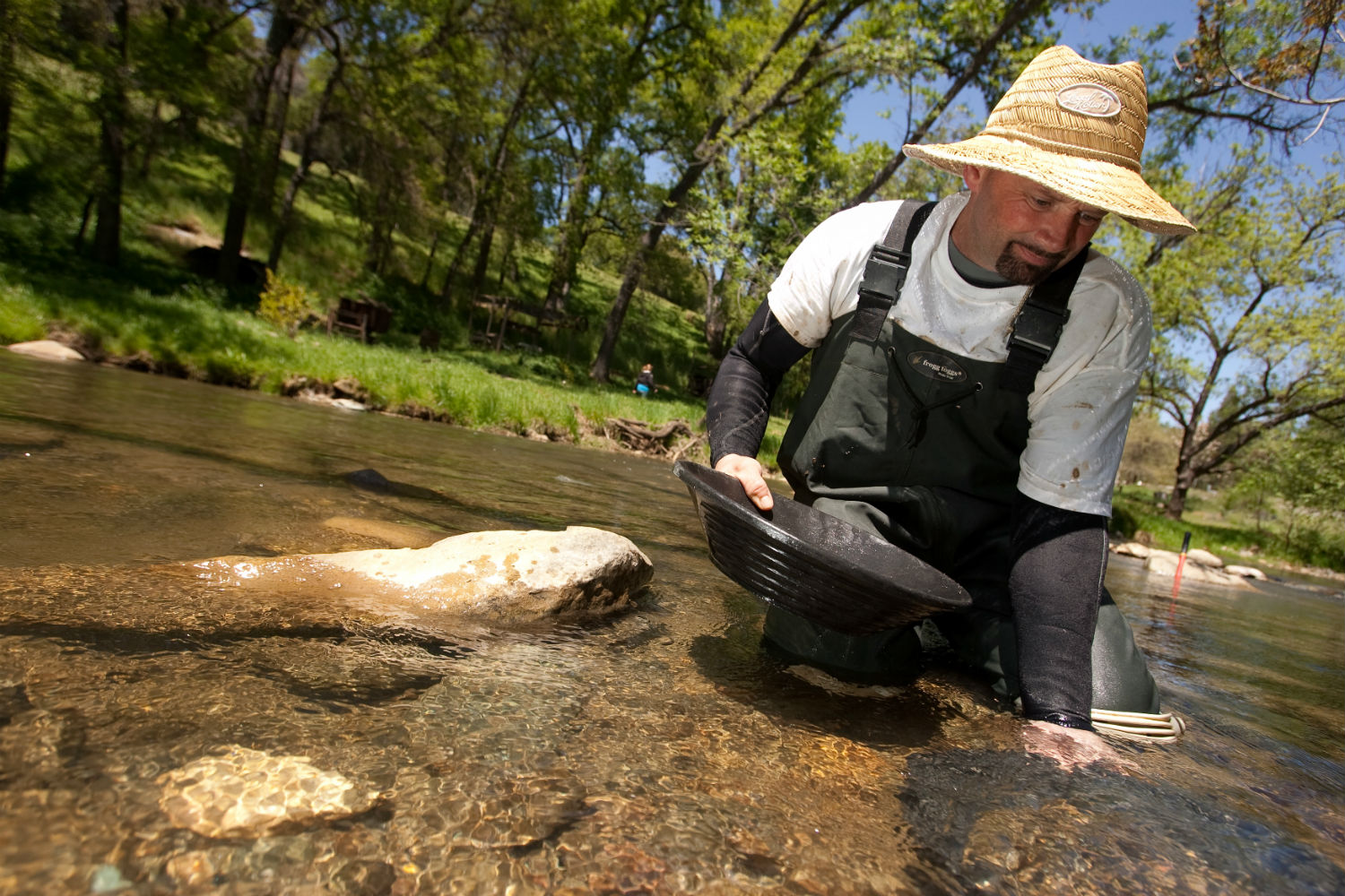 Finding Gold In Fauquier County Lake Anna Rentals - Gold vein map us geological virginia